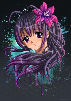 Anime Portrait by Bomu