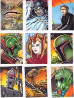 Star Wars Galaxies Sketch Cards 1 by C-McCown