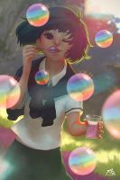 Bubbles by webang111