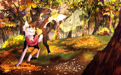 The leaves. by elmira503