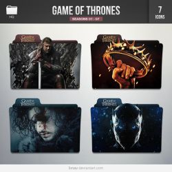 Game of Thrones [Folders] by limav