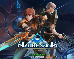 Azure saga wallpaper promo by Brilcrist
