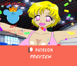 PATREON PREVIEW: Bimbo Cheerleader Ami by laprasking