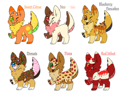 Monster Dog Adopts [CLOSED] by SammichPup