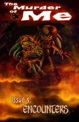 TMOM Issue 5 cover by Gigi-D