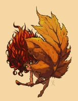 Autum Army - Leaflette by Xatchett