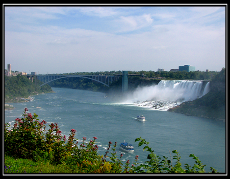 The American Falls by Frasco