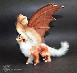 FOR SALE Winged Cat by hon-anim