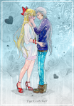Minako And Yaten In Love By EyeXcatcher by Eye-X-catcher