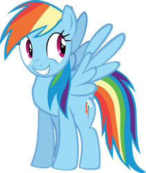 Rainbow - Grin of awesome by MrKat7214