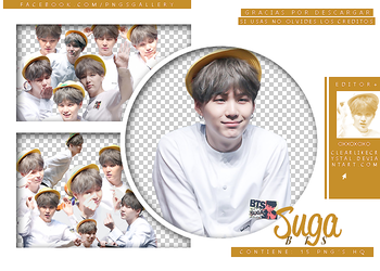 #046 | Pack Png |Suga | BTS by jellycxt