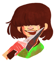 Chara, I guess? by Snowpeanut