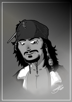 CAPTAIN Jack Sparrow by BouncieD