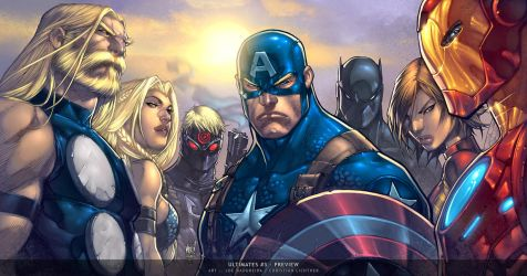 Ultimates3 Cover 5 by liquidology