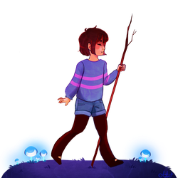 Frisk by R0BUTT