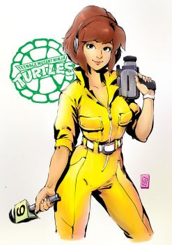 April O'Neil by Smolb