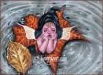 Leaf her alone by Katerina-Art