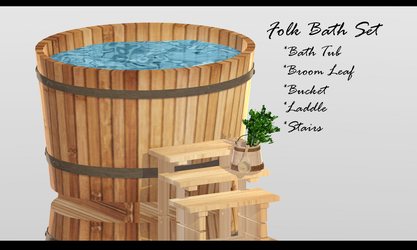 Folk Bath Set + DL by XxXSickHeartKunXxX