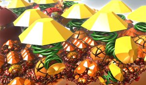 umbrellas and chaos by Andrea1981G