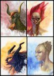 The Queendom: The 4 Tribes by Ranarh