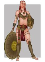 Gladiatrix Bustuarius by Area283