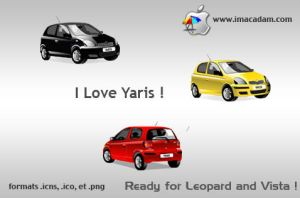I Love Yaris by isb