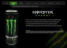 Monster Energy: Monster Drink by ashelee00