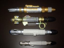Sonic and Laser Screwdrivers by CyberDrone