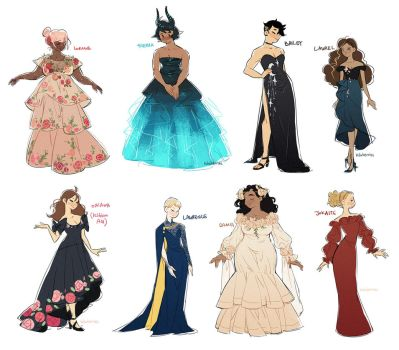 dress prompts 17.03.18 by hawberries