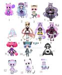 Cheap adoptables open!! 3 usd/300 points each one! by Diana-AS