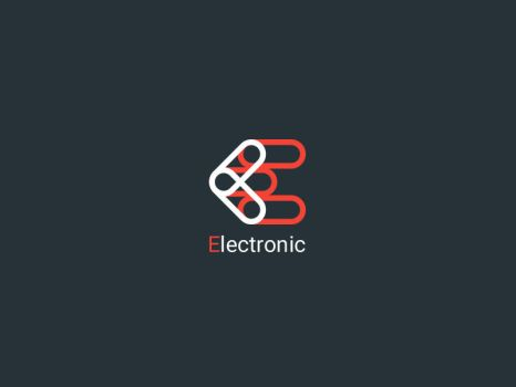 Electronic Logo | Sample by rezasasanian