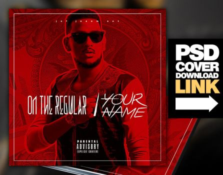 Trap Mixtape Album CD Cover Template by platinumflyers