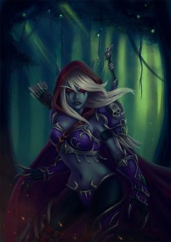 Sylvanas by cibo-black-cat