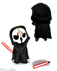 Request *Darth Nihilus VS Darth Vader* by like-a-wind