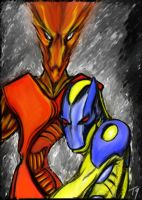 Painted Observers by ludd1te