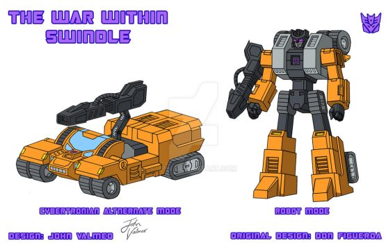 The War Within - Swindle - Design + Colours by JP-V