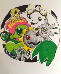 Digijuly - We Are The Cyber Sleuths! by buzzthebatgirl