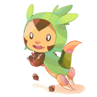 Chespin by redricewine