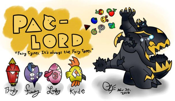 PAC-LORD: Pokemon/Pacman Crossover by OzoneFruit