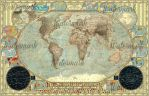 Political Map of the World - Imperial Decorative by JaySimons