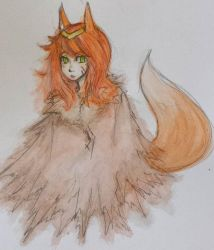 Watercolor #2 - Fox by Luycaslima