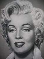 charcoal drawings by spanglerbling