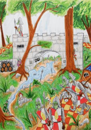 This is Not the Yellow Brick Road~ Fantasy Page #4 by evangeline40003