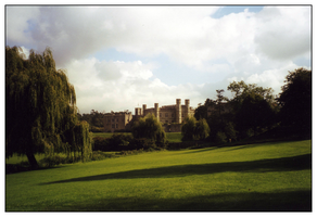 Castle in England by kleinerewoelfin