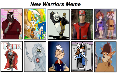 New Warriors Meme #2 by CCB-18