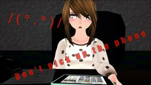 (MMD x FNAF) Don't pick up the phone (+DL MOTION) by MoniiRodrii