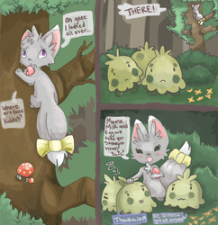 May Task 1 - Shroomish Tykes by RascalWabbit
