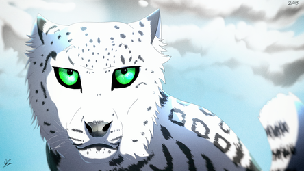Snow Leopard - For Zanny!  HD by EpicSaveRoom