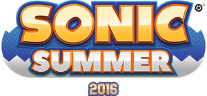 Sonic Summer 2016 Logo by NuryRush