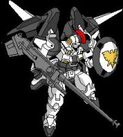tallgeese tracing in windows paint by megamike75